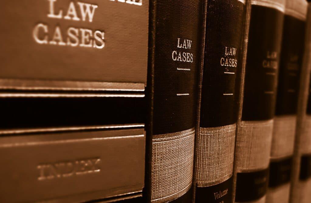 Law Case text books depicting pre-litigation