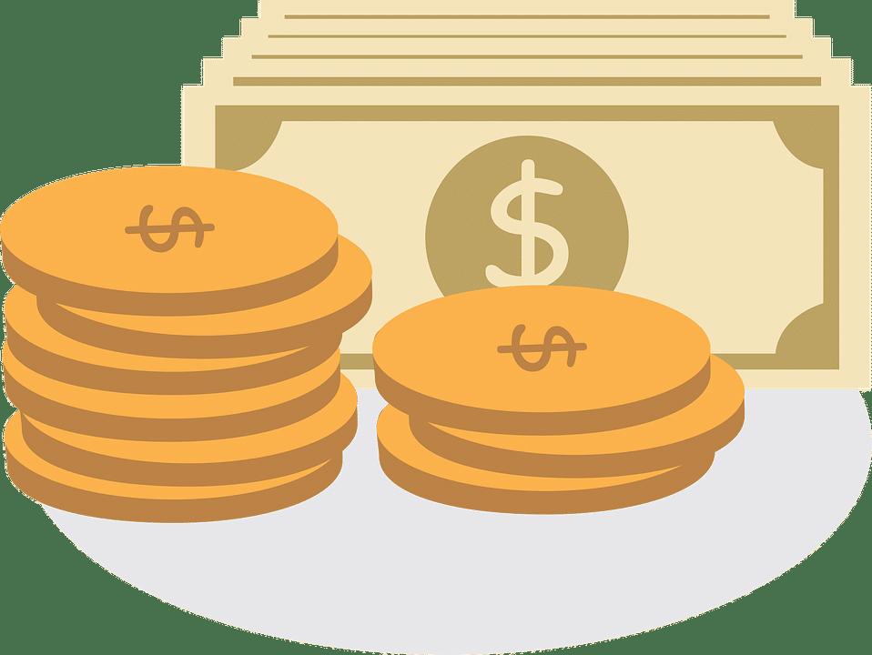 Dollar and coins depicting economic v. non-economic damages